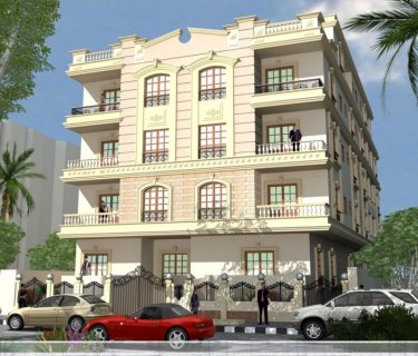 شقة 170م مميزة بحري بمدينة الشروق للبيع