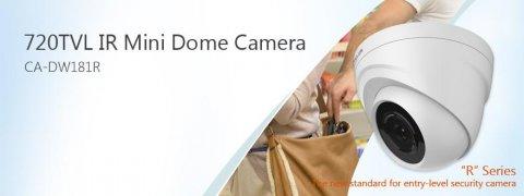 كاميرات مراقبة دووم داخلية عالية الجودة 720 TVL ذات الرؤية الليل
