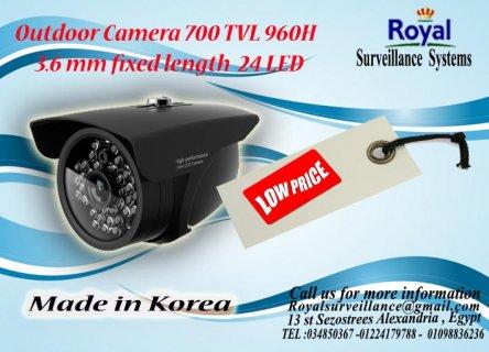 كاميرات مراقبة خارجيةTVL 700  960H