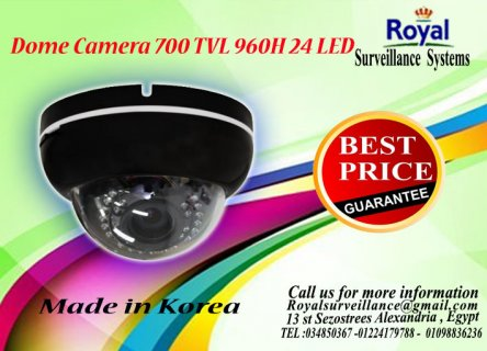 كاميرات مراقبة داخلية  TVL 700  960H