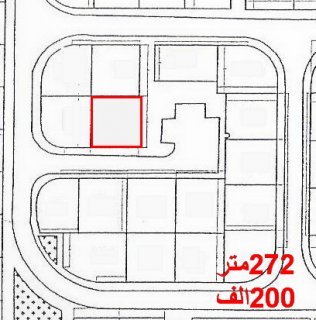 ناصية 272 متر برج العرب الجديدة