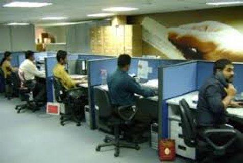 مطــلوب شباب خدمة عملاء بالمعادى ( Call Center  ) راتب ثابت + يو