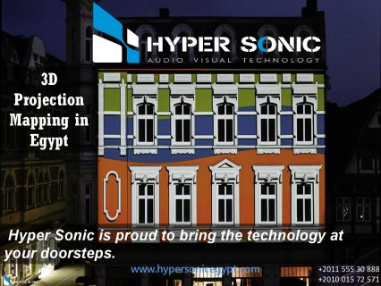 3D Projection Mapping in Egypt - Hyper Sonic