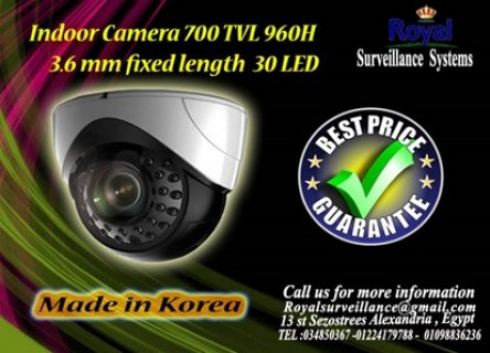 كاميرات مراقبة داخلية TVL 700  960H بعدد 30 LED