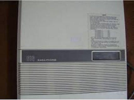 سنترال باناسونيك   KX-T616سعه 6\\16 +عده السنترال 7030