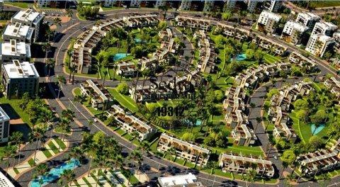 شقة بكمبوند اسكوير مساحة 162.5  مع تسهيلات ف السداد
