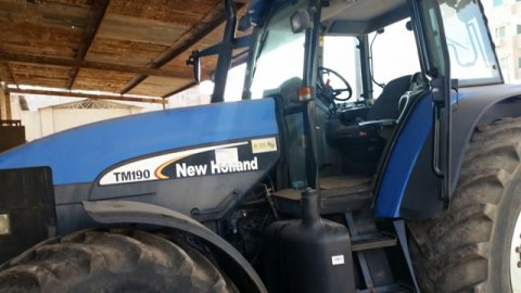 جرار زراعي new holland tm190