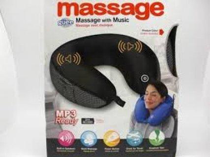 مخدة المساج الجديدة بالموسيقى neck massage with music