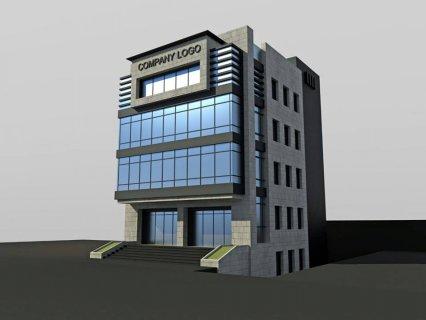 مبنى ادارى تجارى 1300 م للايجار بالتجمع الاول