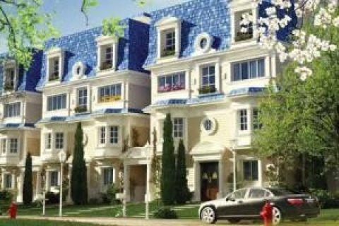 شقة للبيع بماونتن فيو التجمع الخامس تطل على مساحات خضراءبالتقسيط