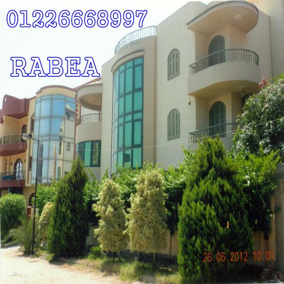 فيلا للبيع بالإسماعيلية مكتب عقارات  ربيع للعقارات 01226668997