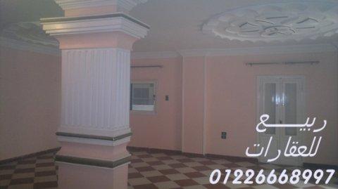 شقق للإيجار بالإسماعيلية مكتب عقارات ربيع للعقارات 01226668997