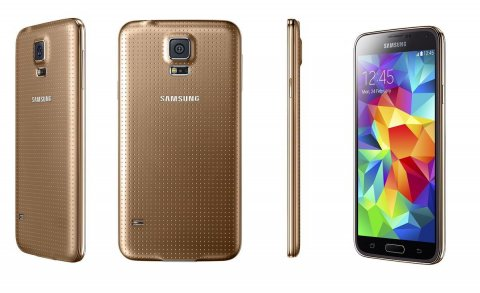 samsung galaxy s5 4g Gold new