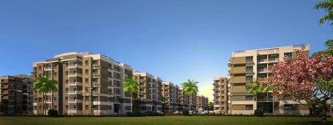 شقة للبيع ثلاث غرف داخل كمبوند بأكتوبر بمقدم 41000جنيه فقط