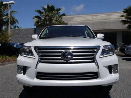Selling My Used 2013 Lexus LX 570 White Full Option