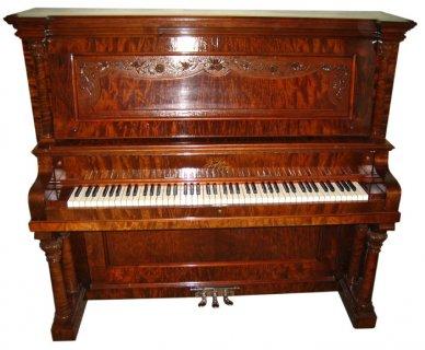 مطلوب بيانو ألماني بني للبيع