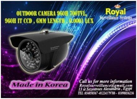 كاميرات مراقبة خارجيةTVL 700 960H بمستوى أضاءة 0.0001 LUX
