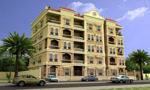 شقة للبيع بالمعادي بالتقسيط بموقع ممتاز 93م