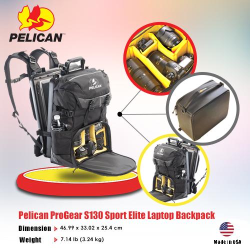 Pelican Pro Gear Model :S130