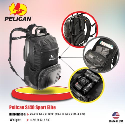 Pelican Pro Gear Model :S140