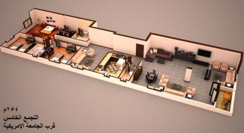 شقة بالتجمع الخامس254م  للبيع بسعر مميز بمقدم 30بالمية