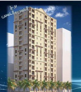 شقة للبيع 90 م بشارع مدرس القدس