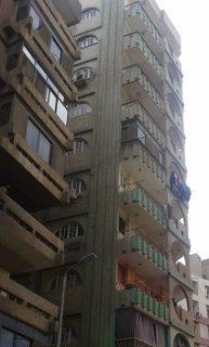 شقة للبيع بشارع الفاتح مع ترعة سنارة