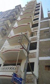 شقة للبيع بشارع على مبارك