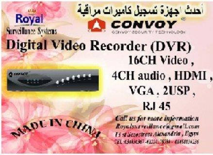 أحدث أجهزة تسجيل كاميرات المراقبة 16 Channel