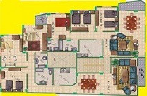 فرصة لن تعوض بموقع متميز وتصميم فريد شقة170م