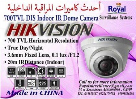 كاميرات مراقبة داخلية  700 TVL بها رؤية ليلية بالاسكندرية