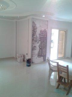 شقة للبيع لقطة 250 متر بمربع الذهبى بين مكرم عبيد و عباس العقاد