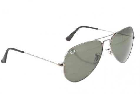 Ray-ban Aviator Unisex Sunglasses - Silver [RB3025-W087958]