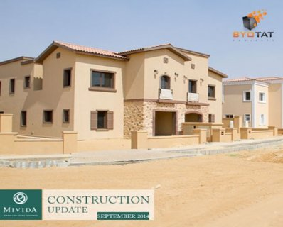 Twin house in Mivida Emaar parcel 28  with greenery view