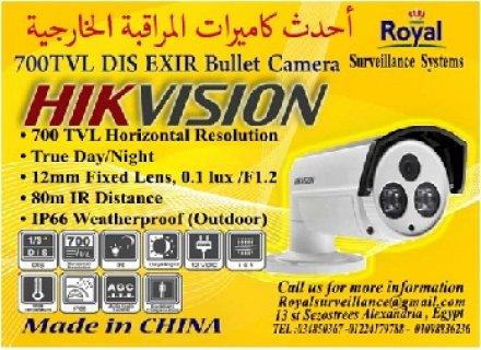 كاميرات مراقبة خارجية  700 TVL بعدسات 12mm