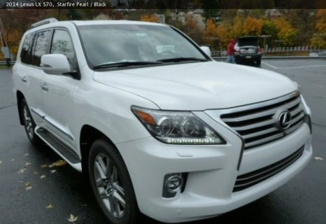 Lexus LX570 SUV model 2013/2014 is available @ $ 15000