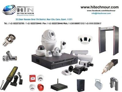 HiTechNour {security systems} كاميرات مراقبه ، أبواب أمنيه