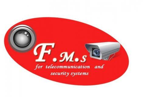 كاميرات مراقبة حديثة جدا تركيب وصيانة مع جميع اجهزة الانذار