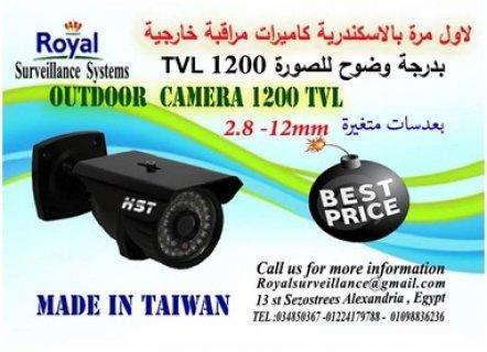 أحدث كاميرات مراقبةخارجيةبعدسات متغيرة1200TVL