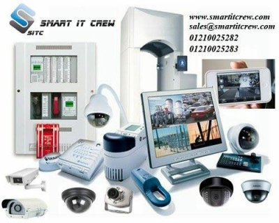 شركة smart it crew لانظمة الانذار وتكنولوجيا المعلومات