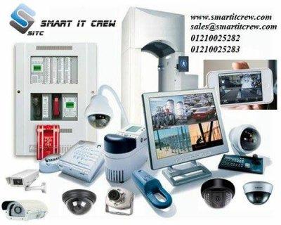 لوعايز تصمم برنامج او موقع تعالى شركة smart it crew