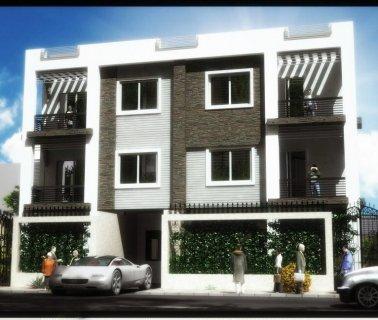 لراغبي السكن الهادئ والاستثمار بالتجمع الخامس شقة 254م