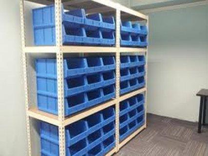 تجهيزات المخازن المنزلية و الصناعية و ارشيف الملفات