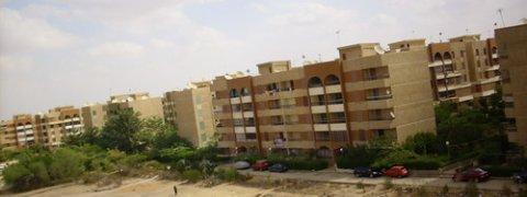 شقة       بعمارات  البنك  بالحى 11 ب 6 أكتوبر 132م