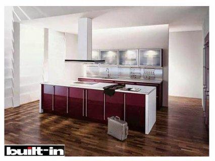 مطبخ ستانلس ملون  - مطبخ مودرن