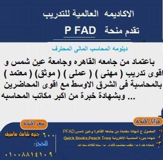 منحة المحاسب المالى المحترف PFAD
