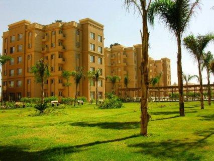 للبيع شقة 200م دور ارضي مرتفع بموقع مميز بعمارات الحي الخامس تشط