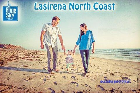 استمتع برؤيه مباشره للبحر من الروف فى لاسرينا الساحل الشمالى