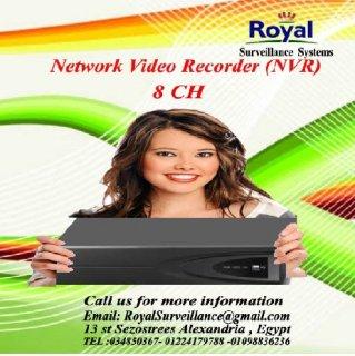 جهاز تسجيل كاميرات مراقبة Network Video Recorder (NVR)  8CH