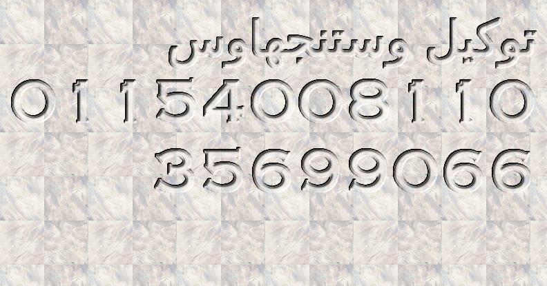 توكيل وستنجهاوس الاساسى ( 01220261030 + 35710008 ) صيانة وستنجها
